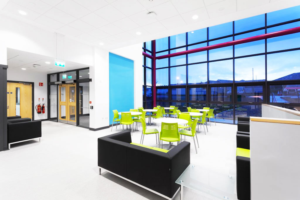 Med Education & Training Facilities at Letterkenny University Hospital for HSE and NUIG.